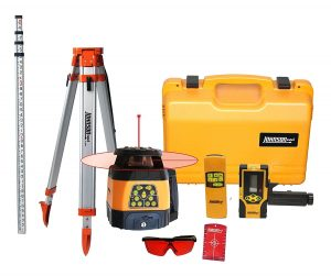 best outdoor rotary laser level