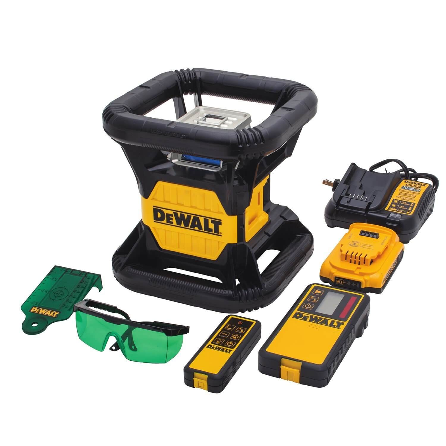 dewalt green laser level