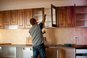 Fasten the Cabinet's Hardware and Doors